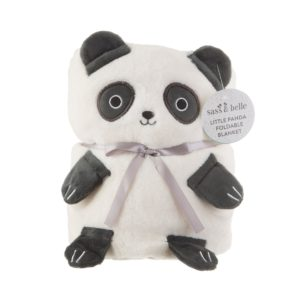BLK002_A_Panda_Soft_Fleece_Baby_Blanket_Front