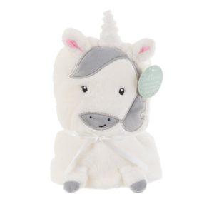 BLK003_A_Unicorn_Soft_Fleece_Baby_Blanket_Front