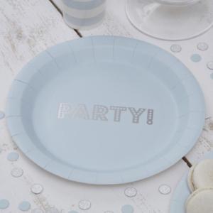blue party plates 1