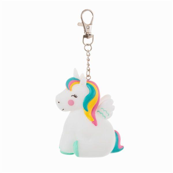 LURE027_A_Raibow_Unicorn_Light_Up_Keyring