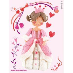 PlayMais_2_Princess_Rose_Card