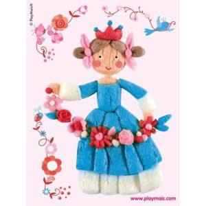 PlayMais_4_Princess_Rose_Card