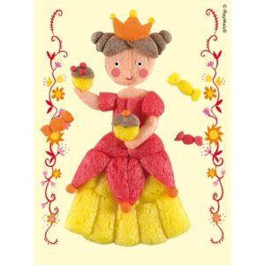 PlayMais_7_Princess_Jaune_Card