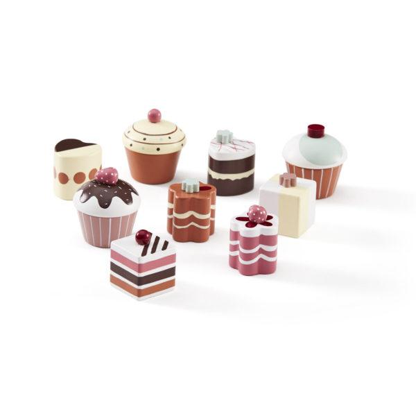 1000264 Cupcakes 9 Set Kid´s Bistro_1_S