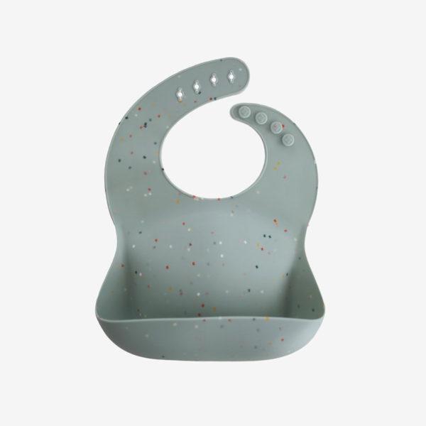 Mushie-Silicone-Bucket-Bib-Cambridge-Blue-Confetti-1_1100x1100