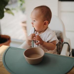 mushie Silicone Feeding Spoons-592x650