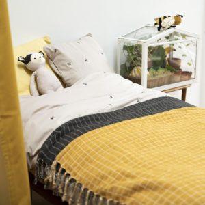 FabelabThrow_Blanket.OrganicCotton-Grid_Ochre2_900x900
