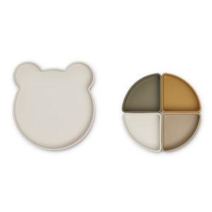 LW14317 - Arne divider plate - 5066 Mr bear sandy multi mix - Extra 1