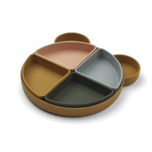 LW14317 - Arne divider plate - 9462 Mr bear golden caramel multi mix - Extra 0